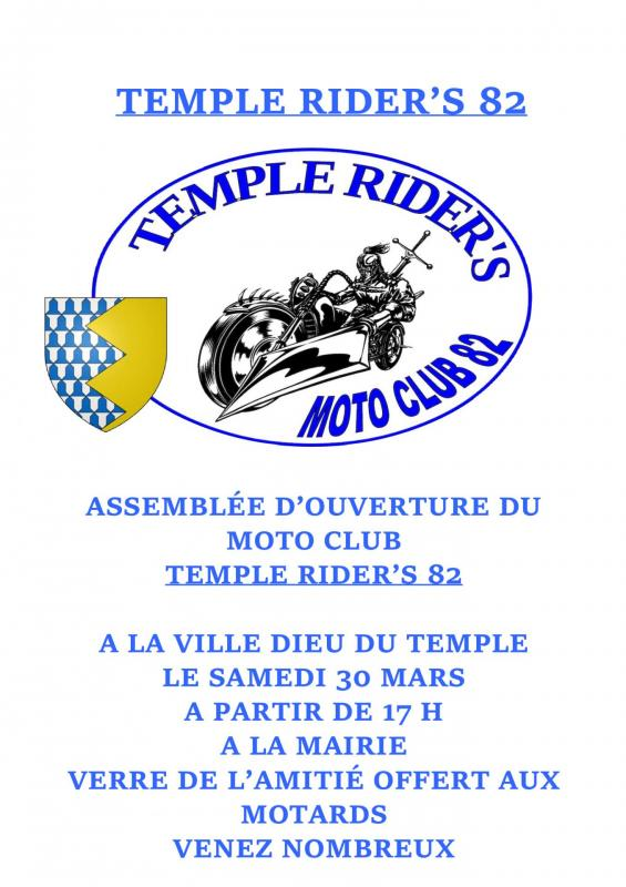 Tract temple rider s